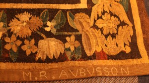 Detail of tapestry at Center for Adventist Research