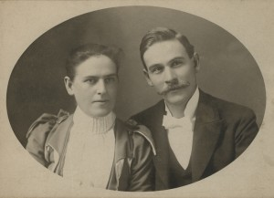 William W. Simpson and his wife Nellie.