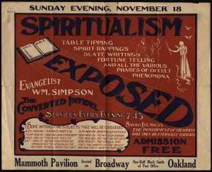 Advertisement fro meetings by Simpson.