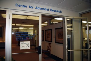 Center for Adventist Research located in the James White Library which is on the campus of Andrews Univeristy in Berrien Springs, Michigan.