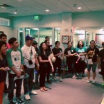 Pathfinder clubs visiting the Center for Adventist Research.